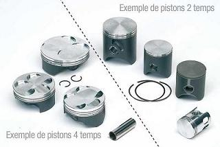 KIT PISTON 2TPS TECNIUM FORGE YAMAHA 125 TDR 1993-2003 / 125 TZR 1993-2000